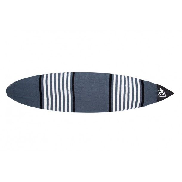 SHORTBOARD SOX: CHARCOAL