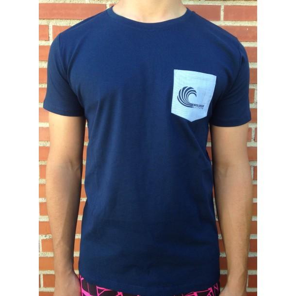 Camiseta Rollback Surf Shop Azul Marino